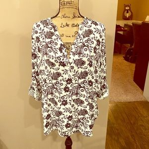 Basic Edition floral blouse